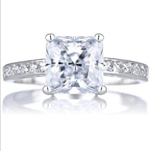 Jewelry - Trista's Promise Ring - Clear Princess Cut CZ